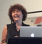 Rosamund Bartlett completing her trilogy of talks to the Wagner Society in NSW on Wagner in Russia on 12 March 2017 (photo, courtesy Mailis Wakeham)