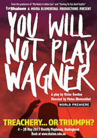 'You will not play Wagner'